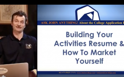 Ask John Anything: Building an Activities Resume