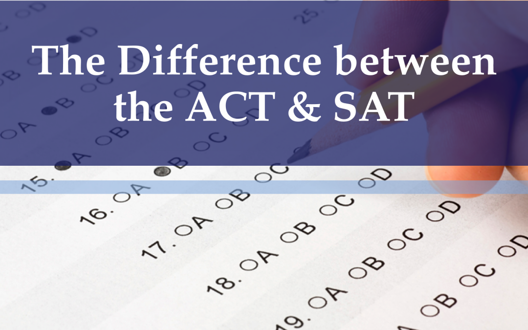 Difference between ACT and SAT