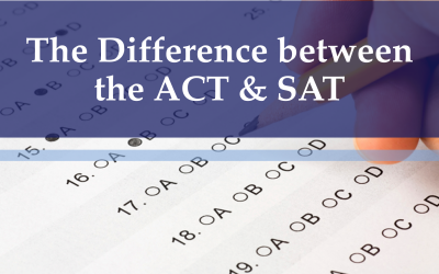 The Difference between the ACT and SAT