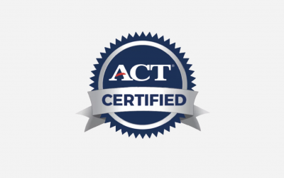 John Baylor Receives Official ACT Educator Certification