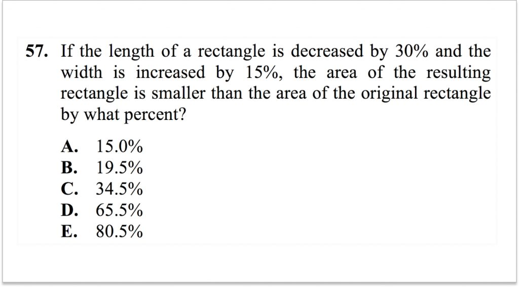 Math ACT Question 57