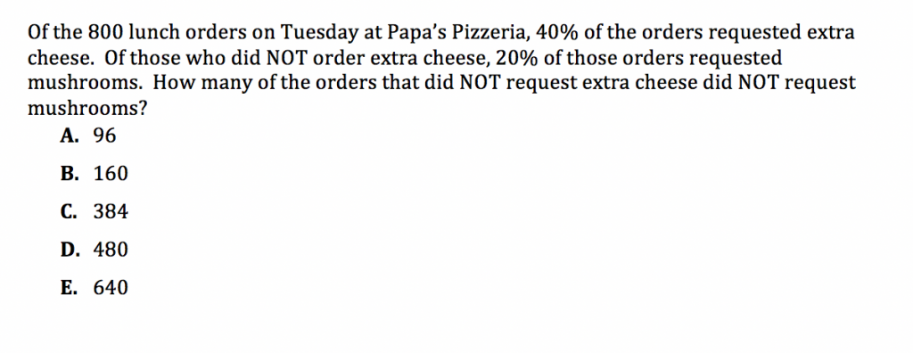 ACT Math Practice Question 7